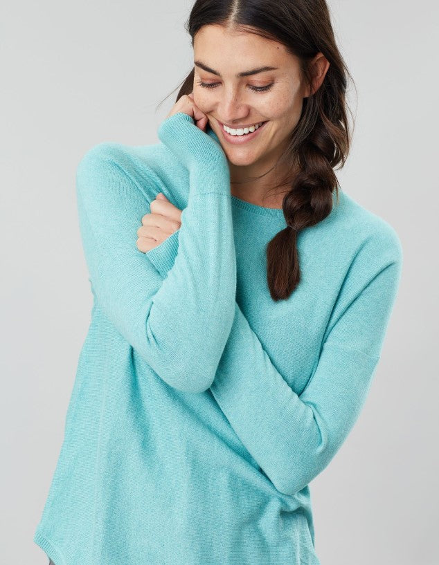 Joules Poppy Blue Round Neck Sweater