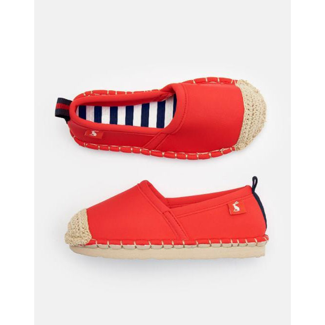 Joules Ocean Flippadrilles - Red-Shoes - Girl-Joules-9-Eden Lifestyle