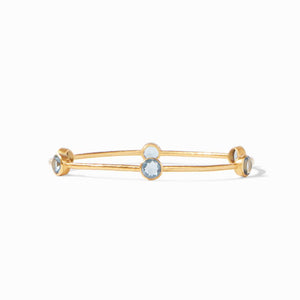 Julie Vos, Accessories - Jewelry,  Julie Vos - Milano Bangle Slate Blue