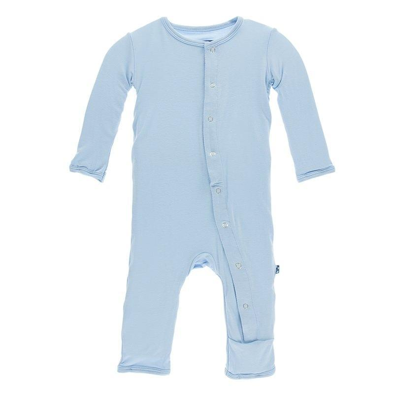 KicKee Pants - Basic Coverall Pond-Baby Boy Apparel - Rompers-KicKee Pants-3-6M-Eden Lifestyle