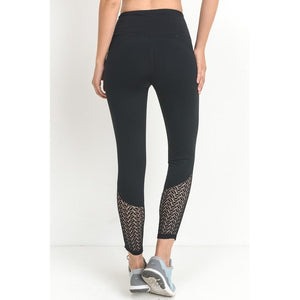 Killin It Black Leggings-Women - Activewear-Eden Lifestyle-Small-Eden Lifestyle