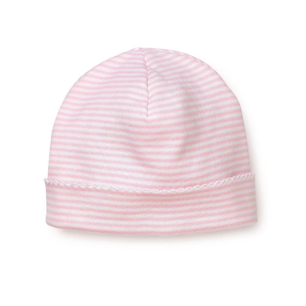 Kissy Stripes Hat-Accessories - Hats-Kissy Kissy-Newborn-Pink-Eden Lifestyle