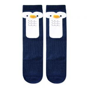 Knee Socks Penguin-Accessories - Socks-Eden Lifestyle-Small-Eden Lifestyle