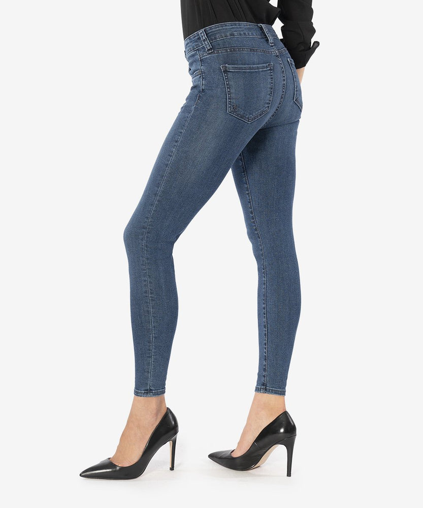 KUT from the Kloth, Women - Denim,  KUT from the Kloth Connie Ankle Skinny Jeans (Black Ash Wash)