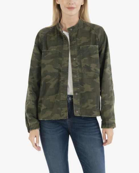 KUT from the Kloth, Women - Outerwear,  KUT from the Kloth Cruz Camo Bomber