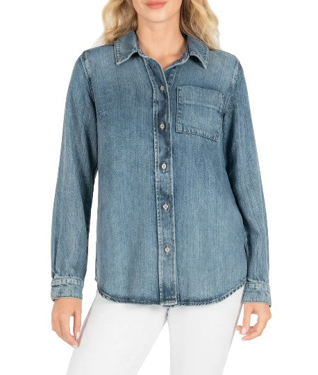 KUT from the Kloth, Women - Shirts & Tops,  KUT from the Kloth Grace Button Down Shirt