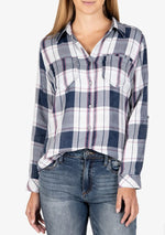 KUT from the Kloth, Women - Shirts & Tops,  KUT from the Kloth Hannah Plaid Top