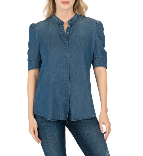 KUT from the Kloth - Ruth Collar Blouse - Eden Lifestyle