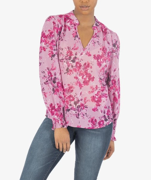 KUT from the Kloth, Women - Shirts & Tops,  KUT from the Kloth - SAGE BLOUSE (ORCHID)