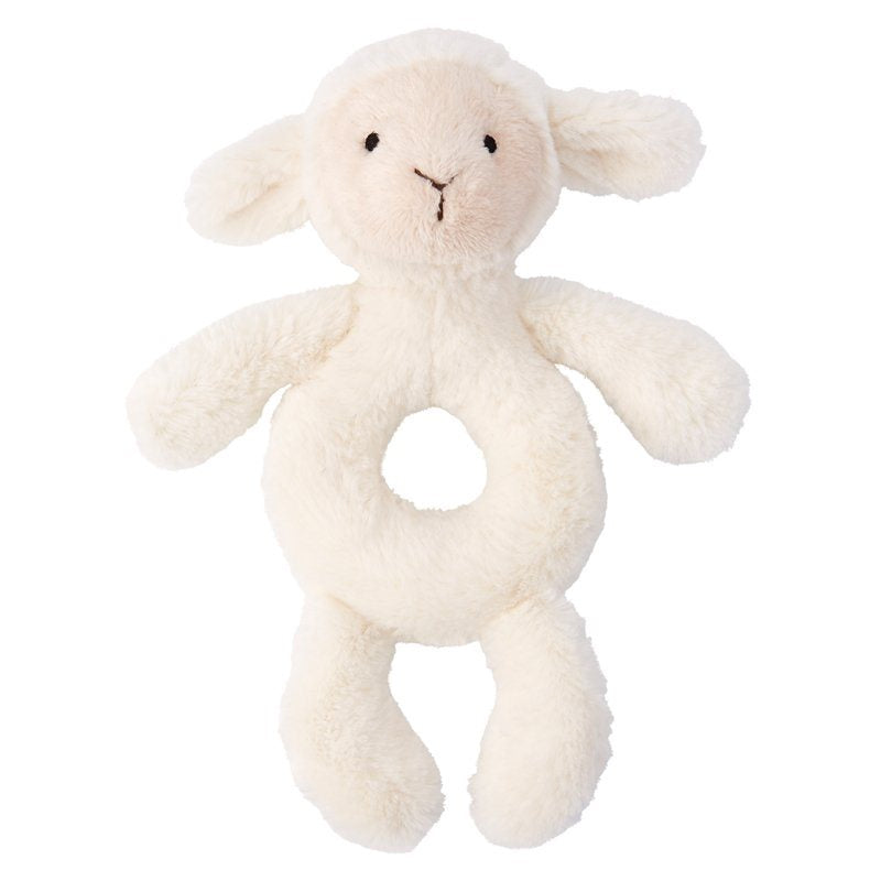 Jellycat Bashful Lamb Ring Rattle-Gifts - Stuffed Animals-Jellycat-Eden Lifestyle