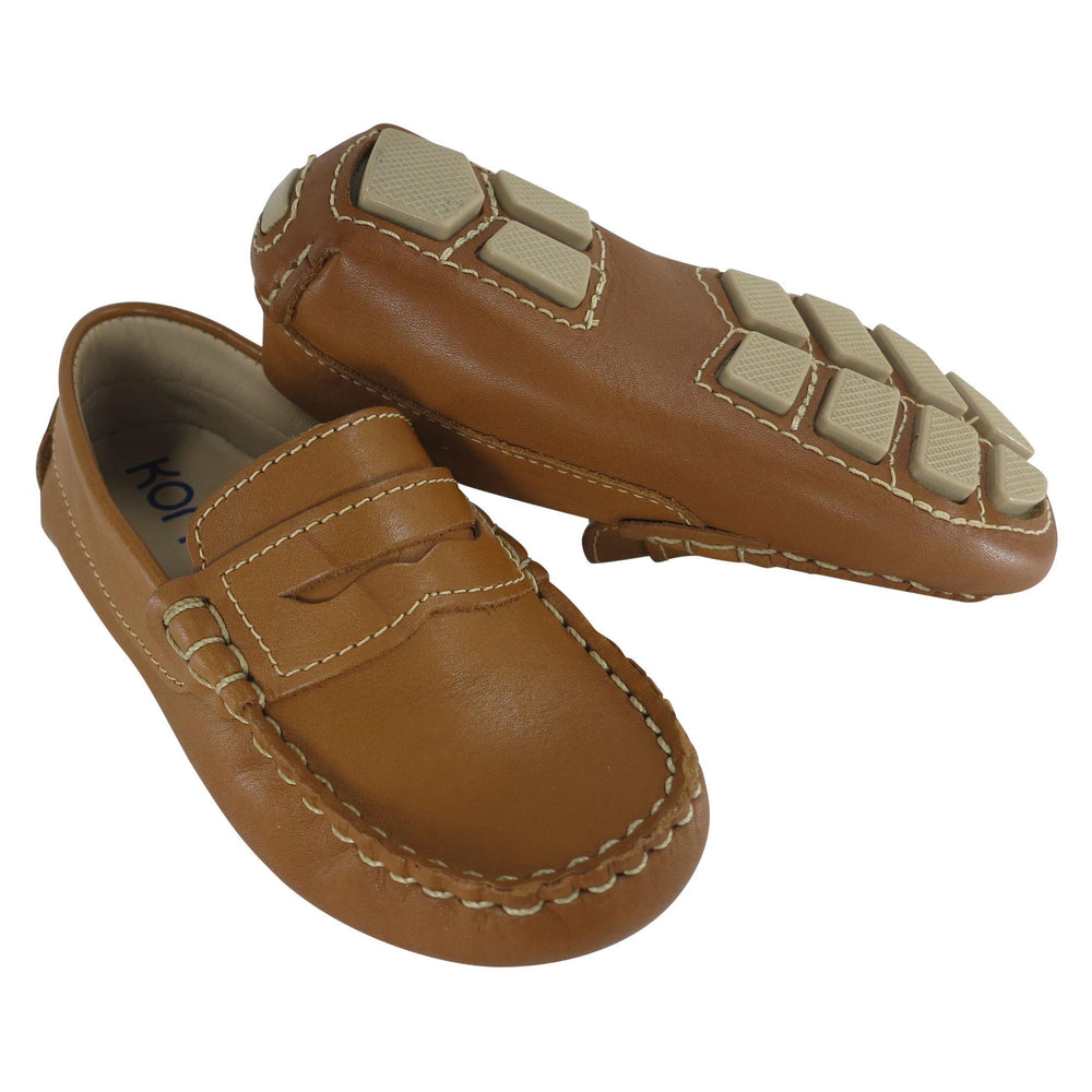 Leather Driving Moccassins-Shoes - Boy-Toke-21-Eden Lifestyle