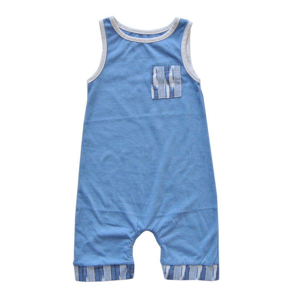 Liam Romper-Baby Boy Apparel - Rompers-Miki Miette-6M-Eden Lifestyle