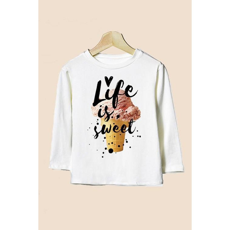 Life is Sweet Tee-Girl - Tees-Eden Lifestyle-5-Eden Lifestyle