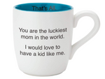 Luckiest Mom Mug - Eden Lifestyle