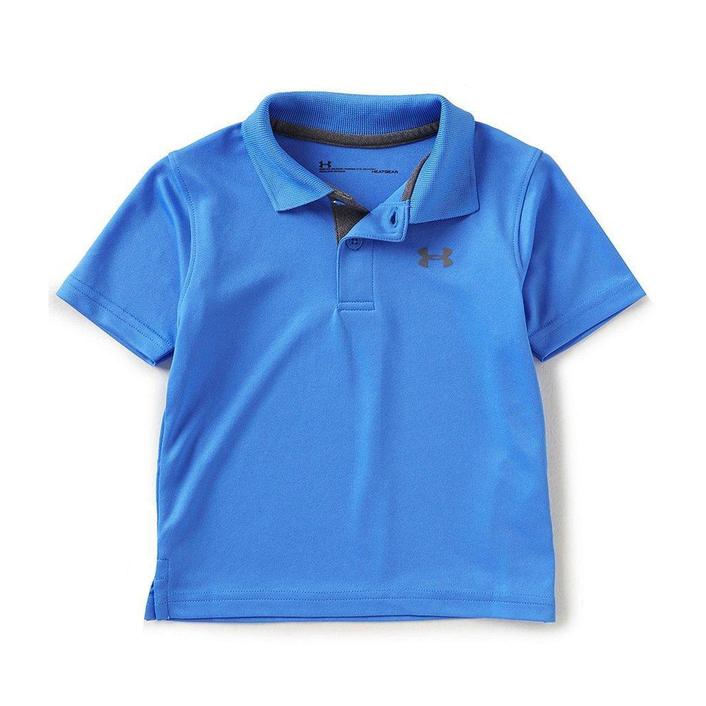 Match Play Polo - Mako-Baby Boy Apparel - Shirts & Tops-Under Armour-12M-Eden Lifestyle
