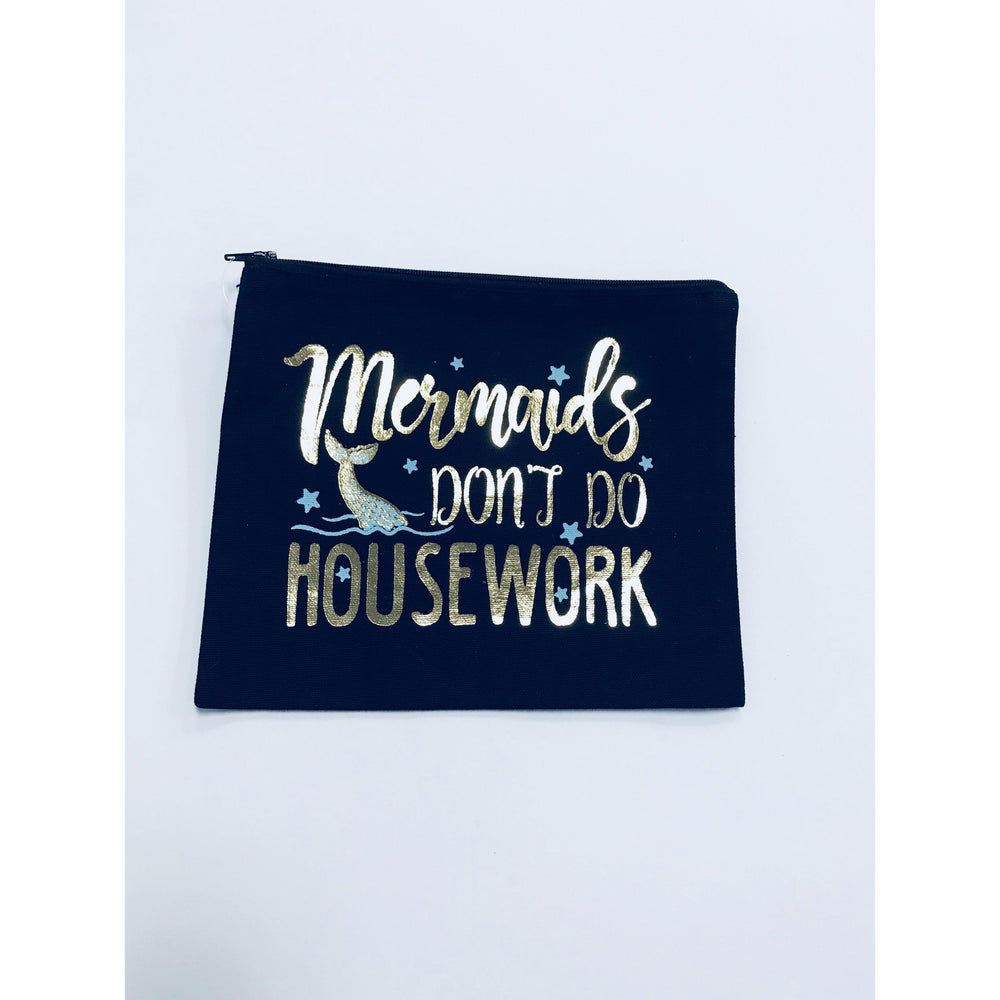 Mermaids Don't do Housework Pouch-Gifts - Kids Misc-Eden Lifestyle-Eden Lifestyle