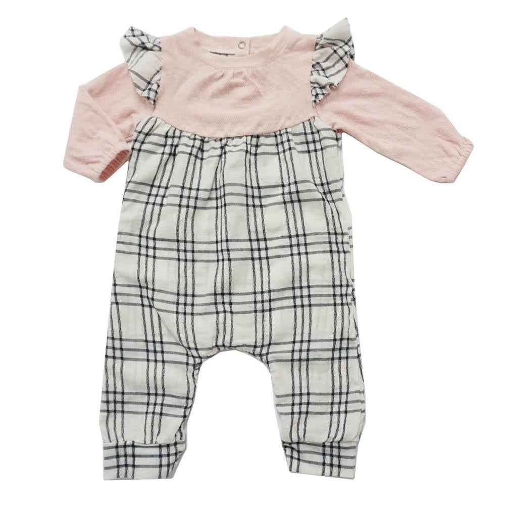 Miki Miette, Baby Girl Apparel - Rompers,  Miki Miette Floutter Romper Giggles