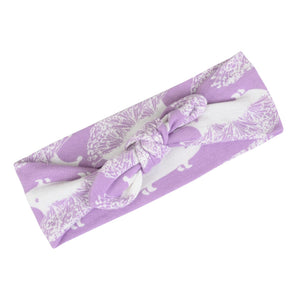 Milkbarn Headband-Accessories - Bows & Headbands-Milkbarn-Lavender Hedgehog-Eden Lifestyle