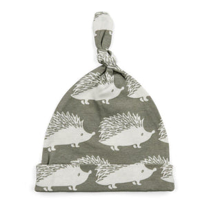 Milkbarn, Accessories - Hats,  Milkbarn Knotted Hat - Gray Hedgehog