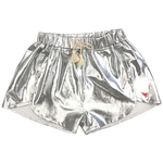 Pink Chicken, Girl - Shorts,  Pink Chicken Millie Silver Metallic Short