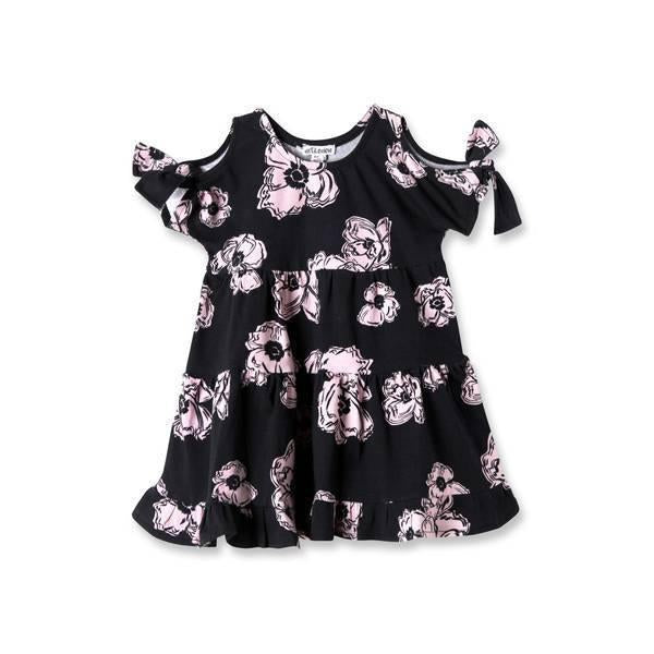 Mini Emma Cold Dress-Baby Girl Apparel - Dresses-Art & Eden-6-9M-Eden Lifestyle