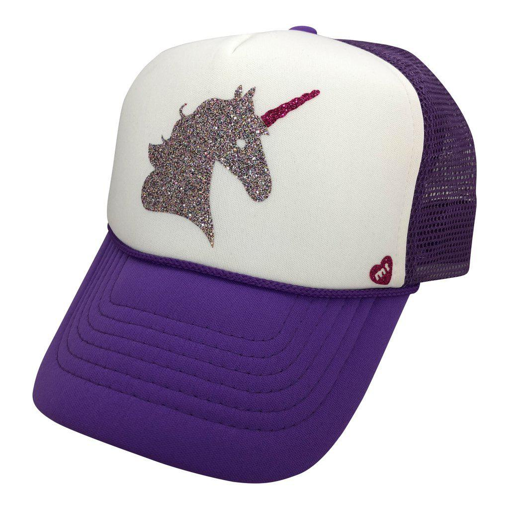 Majestic Unicorn Youth Mother Trucker Hat-Accessories - Hats-Mother Trucker-Eden Lifestyle