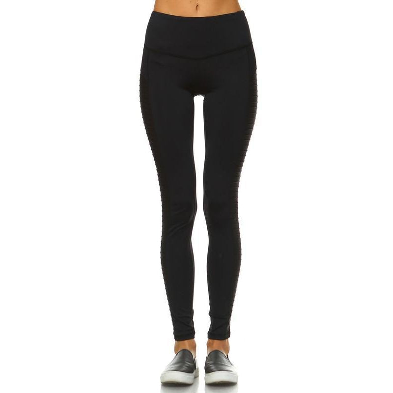 Moto Leggings-Women - Activewear-Eden Lifestyle-Small-Eden Lifestyle