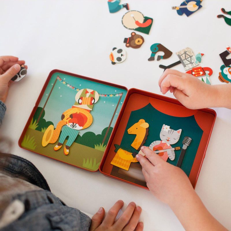 Petitcollage, Gifts,  Animal Band Magnetic Play Set