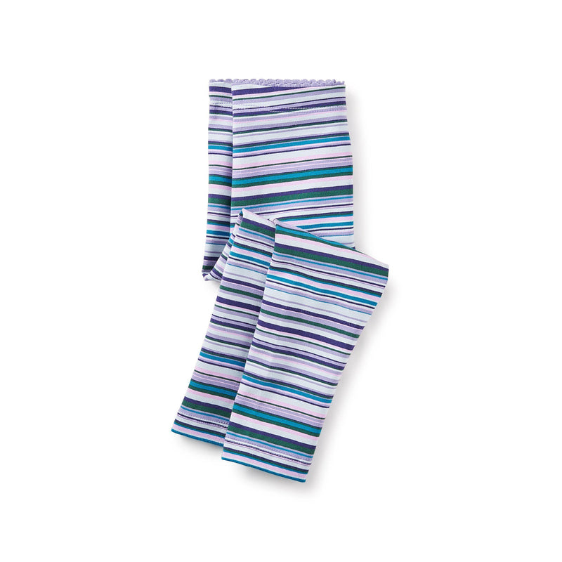 Tea, Leggings, Eden Lifestyle, Multistripe Baby Leggings - Taffy