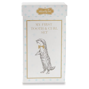 My First Tooth and Curl Set-Gifts - Kids Misc-Mud Pie-Eden Lifestyle