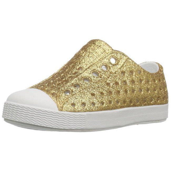 Native, Shoes - Girl,  Native Jefferson - Gold Bling
