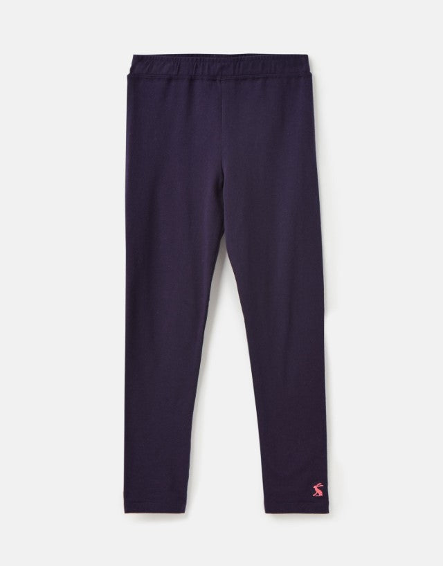 Joules, Girl - Pants,  Joules Emilia Jersey Leggings - Mid Navy