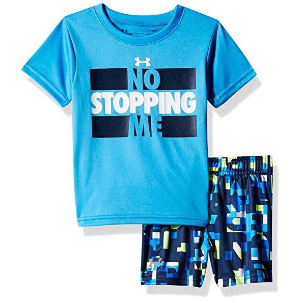 No Stopping Me Set-Boy - Shirts-Under Armour-12M-Eden Lifestyle