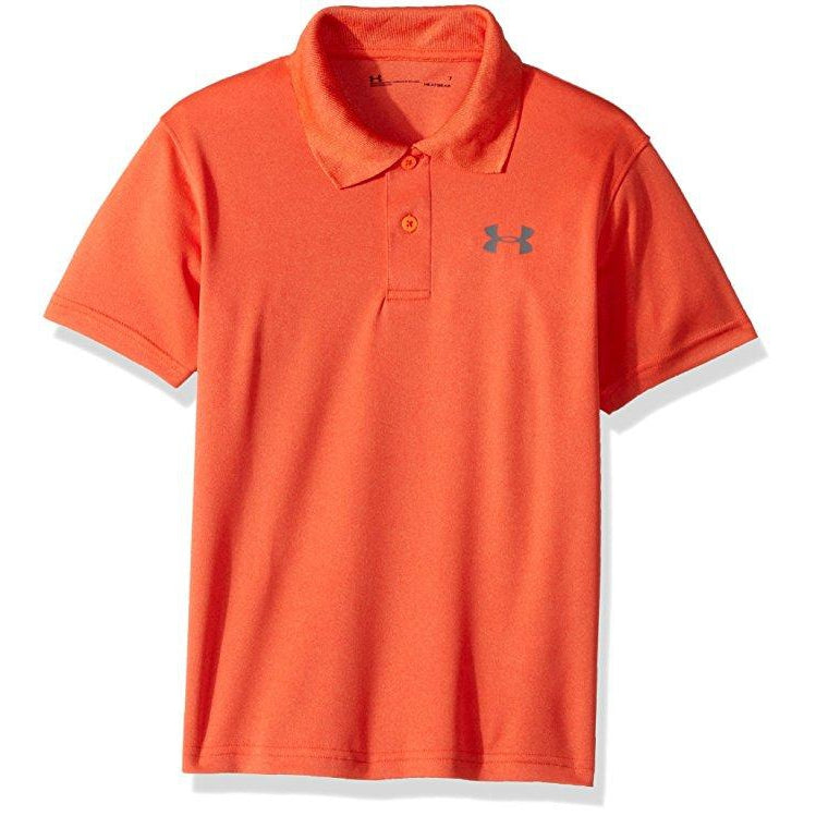 Match Play Polo Magma Orange-Boy - Shirts-Under Armour-4-Eden Lifestyle