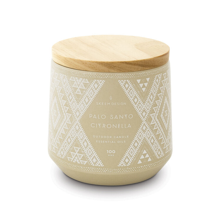 Skeem, Home - Candle,  Palo Santo Citronella Candle