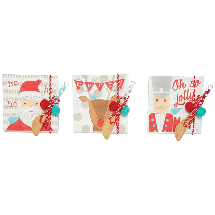 Mud Pie - Christmas Paper Napkins