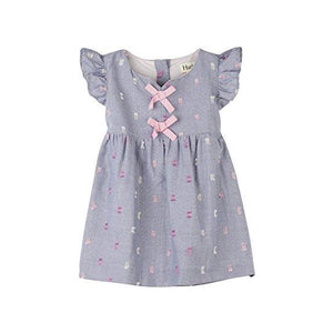 Hatley, Baby Girl Apparel - Dresses,  Hatley Pink Bows Pinafore Dress