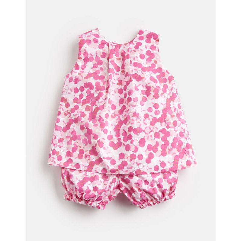 Joules FELICITY WOVEN TOP AND BLOOMER SET-Baby Girl Apparel - Rompers-Joules-3-6M-Eden Lifestyle