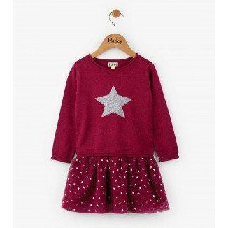 Hatley Polaris Drop Waist Dress-Girl - Dresses-Hatley-3-Eden Lifestyle