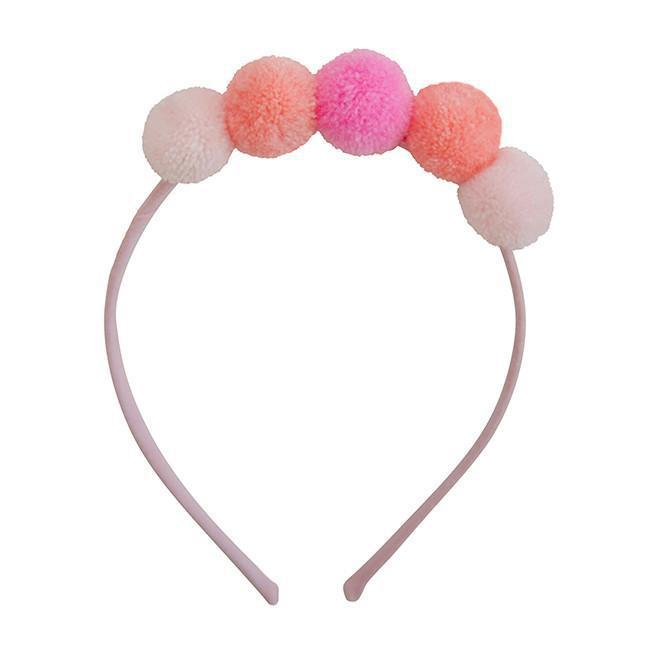 Pompom Headband-Accessories - Bows & Headbands-Everbloom-Eden Lifestyle