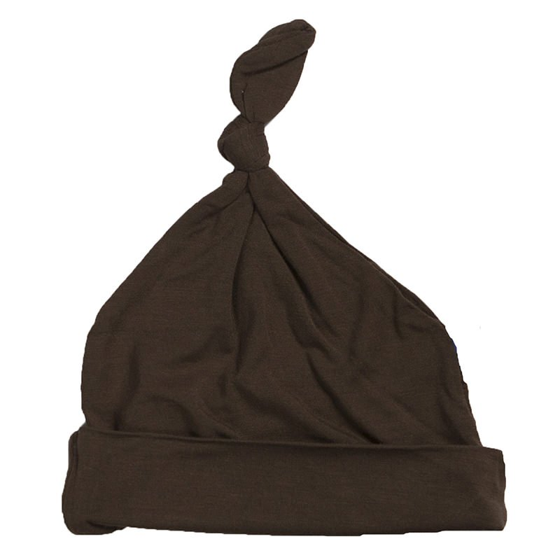 KicKee Pants, Footie, Eden Lifestyle, KicKee Pants - Basic Knot Hat in Bark