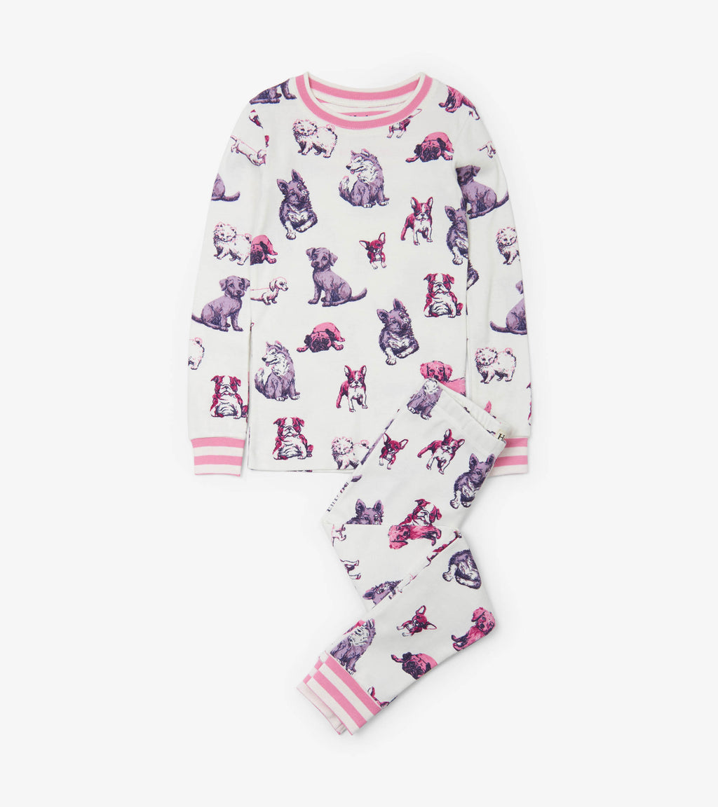 Hatley - Precious Pups Organic Cotton Pajama Set