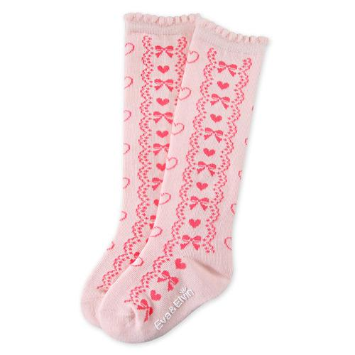 Princess Knee Socks - Pink-Accessories - Socks-Eden Lifestyle-Small-Eden Lifestyle