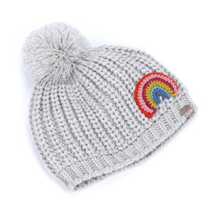 Rainbow Beanie-Accessories - Hats-Peppercorn Kids-2T-Eden Lifestyle