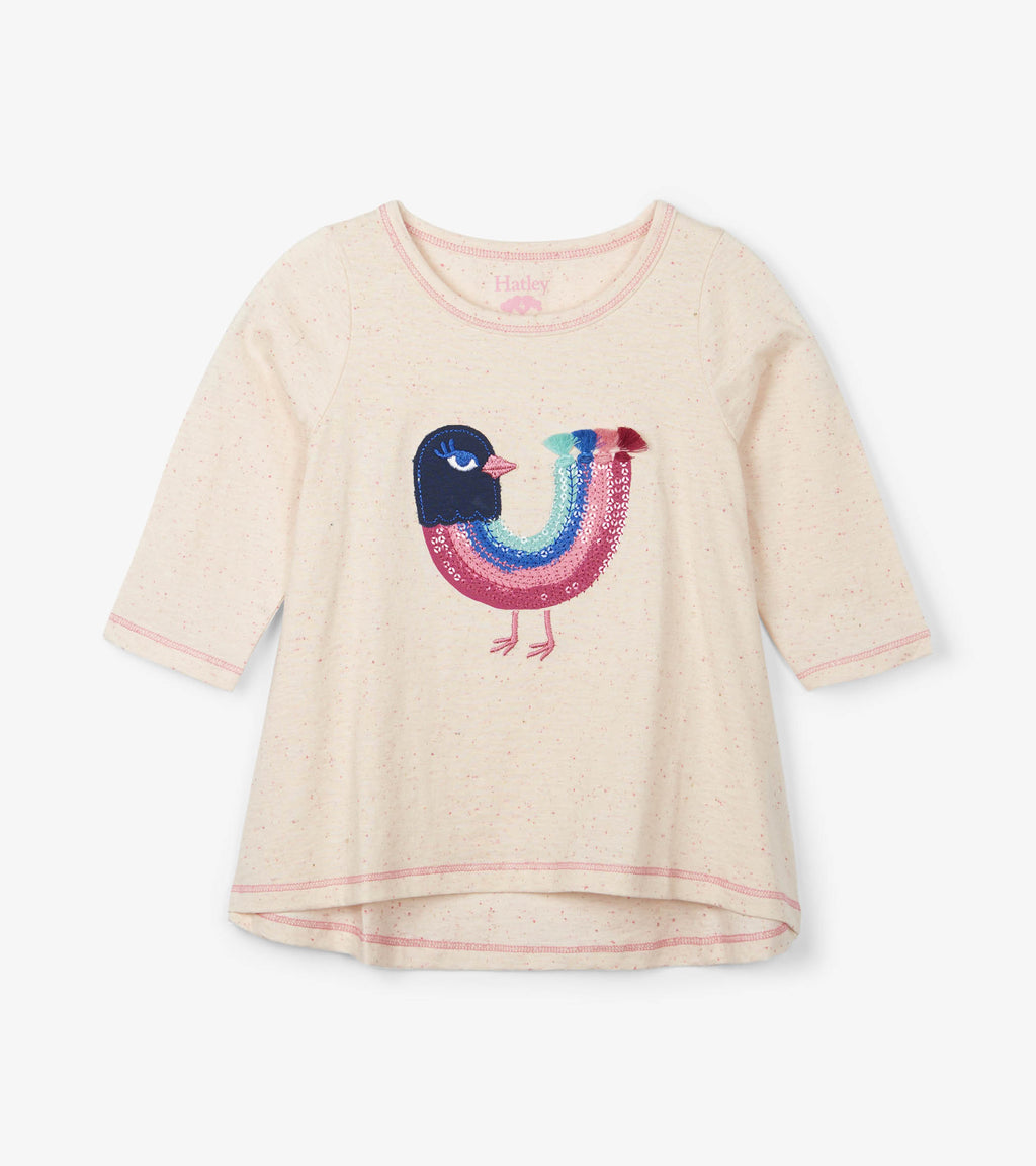 Hatley - Rainbow Bird Long Sleeve Tee