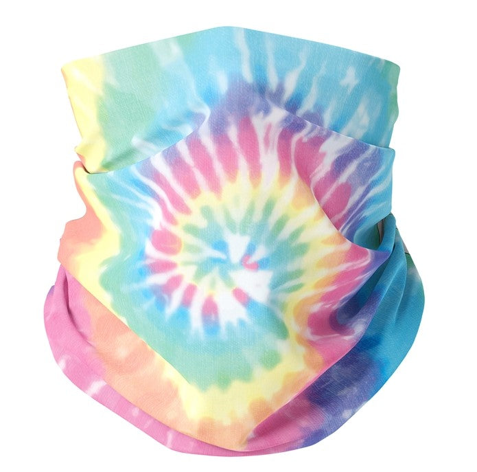 Eden Lifestyle Boutique, Masks,  Kids Rainbow Tie Dye Gaiter