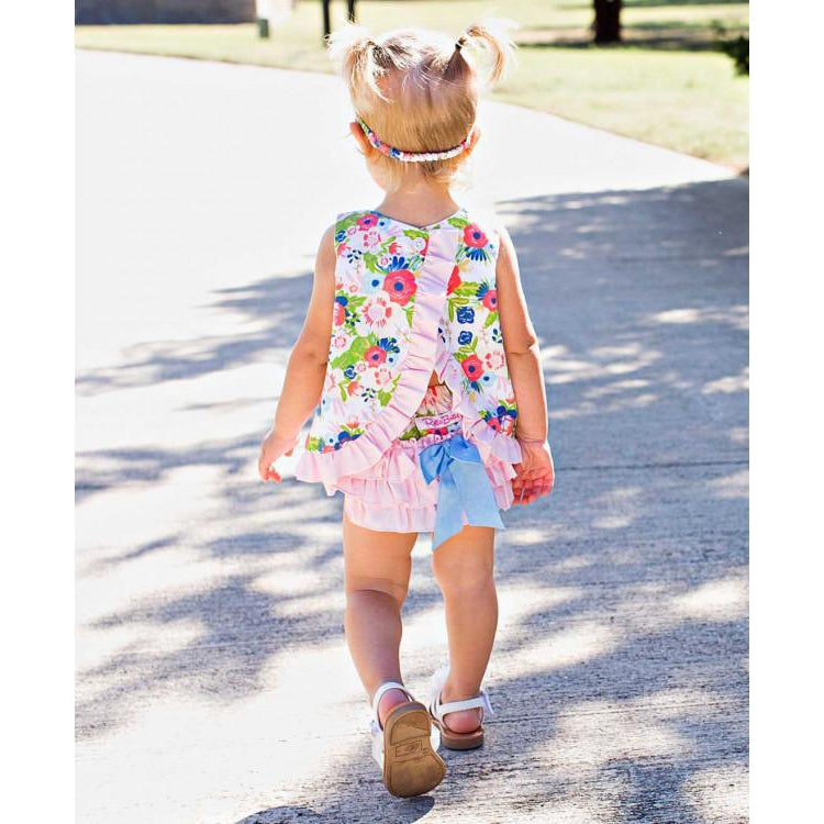 English Garden RuffleButt-Baby Girl Apparel - Bloomers-Ruffle Butts-12-18M-Eden Lifestyle