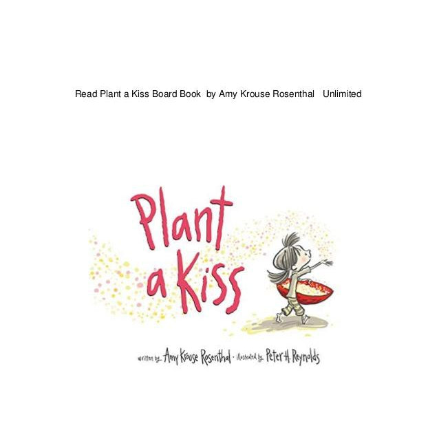 Plant a Kiss-Book-Harper Collins-Eden Lifestyle