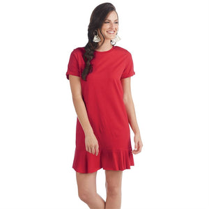 Mud Pie, Women - Dresses,  Hope Flounce T-Shirt Dress