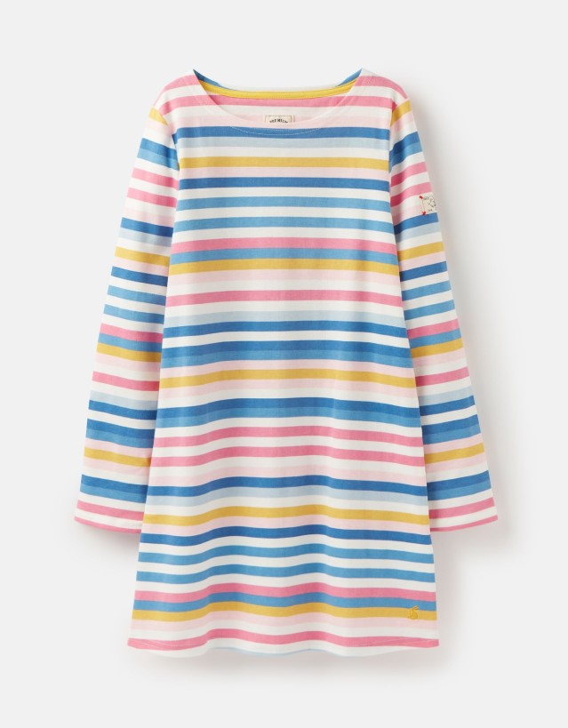 Joules, Girl - Dresses,  Riviera Long Sleeve Shift Dress